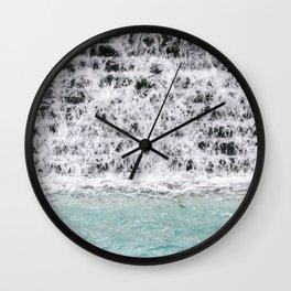 Drops falling | Travel photography art print photo Wall Clock