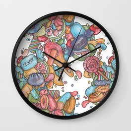 Wow! Candy Wall Clock