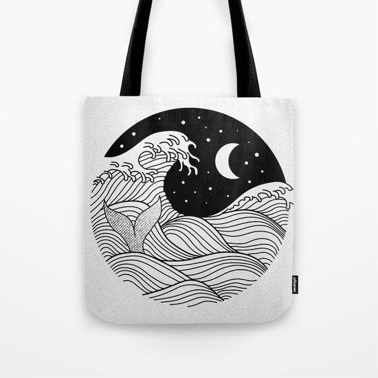 Night Swim Tote Bag