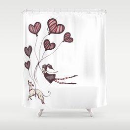 Spreading Love pt.2 Shower Curtain