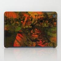 tom selleck iPad Cases featuring Peeping Tom by Ganech joe