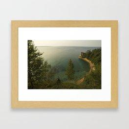 Miner's Castle at Pictured Rocks National Lakeshore   Upper Peninsula of Michigan Framed Art Print