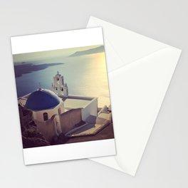 Church of Santorini Stationery Cards