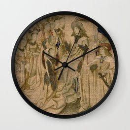Ester presented to Ahasuerus Wall Clock