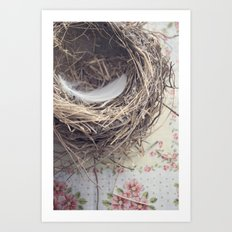 empty nest Art Print