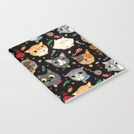 Neighborhood Cats in Black Notebook