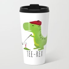 Tee-Rex Metal Travel Mug