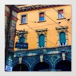 Bologna Building Canvas Print