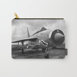 Lightning Under Stormy Skies Carry-All Pouch