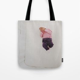 LOST IN THE BIG WORLD Tote Bag