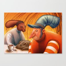Mad Tea Party Canvas Print