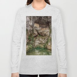 The Holy Cave of Covadonga Long Sleeve T-shirt