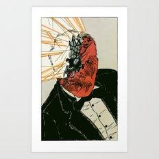 Shell Shock - Colour Art Print