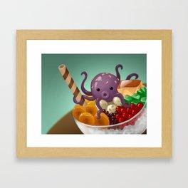 Halo Haloctopus Framed Art Print