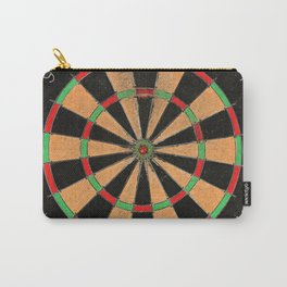 Old vintage retro dartboard target Carry-All Pouch