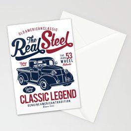 The Real Steel Vintage Truck Stationery Cards
