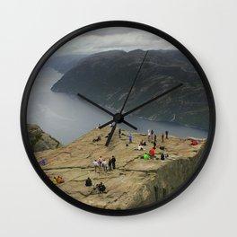 Preikestolen, Norway (2) Wall Clock