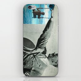 Scream if you want to go faster. iPhone Skin