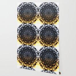 Touch of golden glow Wallpaper