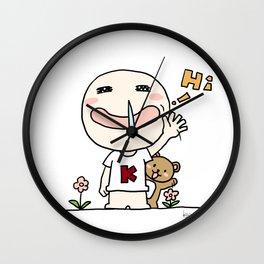 K Young-HI Wall Clock