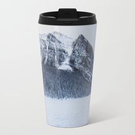 Snowy Mountain Travel Mug