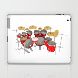 Red Drum Kit Laptop & iPad Skin
