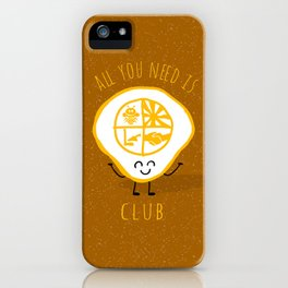 All u need is Adventure Club iPhone Case
