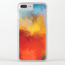 Expressions 10 Clear iPhone Case
