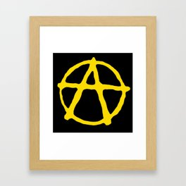 Anarcho-Capitalism Framed Art Print