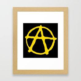 Anarcho-Capitalism Framed Art Print