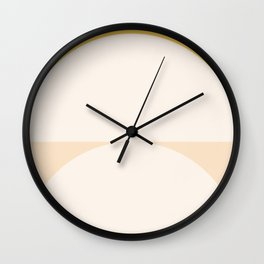 Abstract Geometric 01 Wall Clock