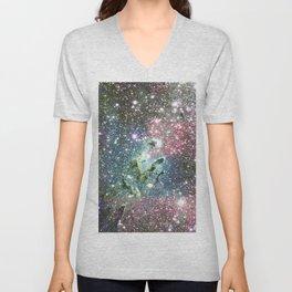 Eagle Nebula Pastel Unisex V-Neck