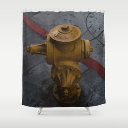 LA Streets Shower Curtain