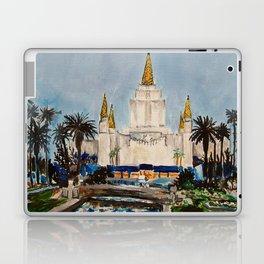 Oakland California LDS Temple Dusk Laptop & iPad Skin