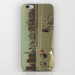 A Green Point Of View iPhone Skin
