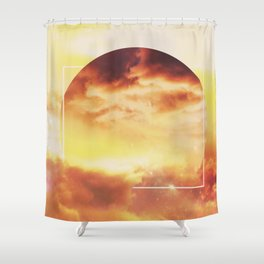 Helios And Clouds Shower Curtain