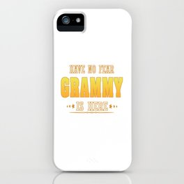 GRAMMY is Here iPhone Case