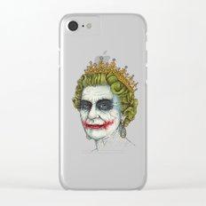 God Save the Villain! Clear iPhone Case