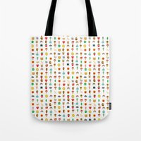 kawaii Tote Bags featuring Kawaii by heidi kenney