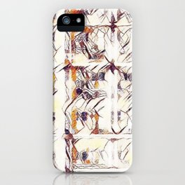 Homage to Kandinsky, with Watercolors iPhone Case