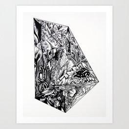 Selected Poems Art Print