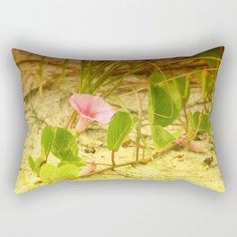 Beach Morning Glory Rectangular Pillow