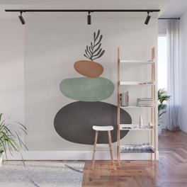 Abstract Shapes Wall Mural