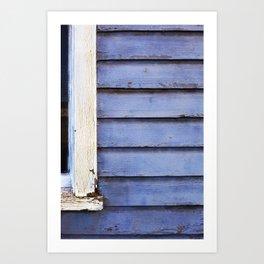 Old Blue Art Print