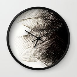 Tulle Wall Clock