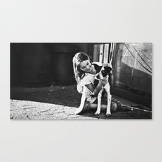 Abby and Gypsy Canvas Print