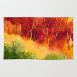Autumn scenery #16 Rug