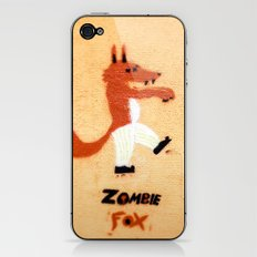 Zombie Fox iPhone & iPod Skin