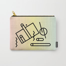 Abstract Memphis Art Carry-All Pouch