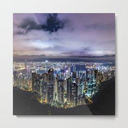 Kam Shan Country Park Cityscape, Hong Kong #2 Metal Print